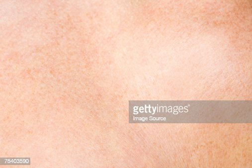 Close up of skin : Foto stock