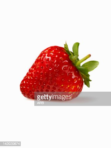 Close up of strawberry : Stock Photo