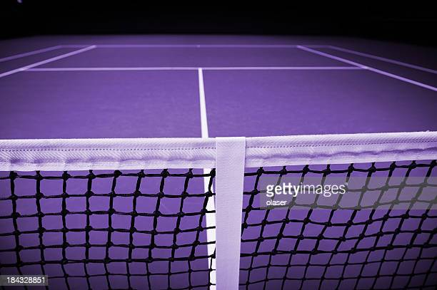 Close up of tennis net