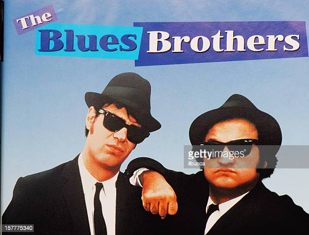 Close up of The Blues Brothers DVD cover