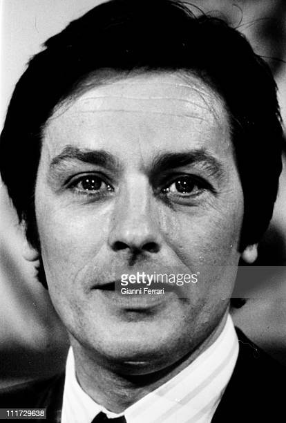 A close up of the french actor Alain Delon Madrid Spain