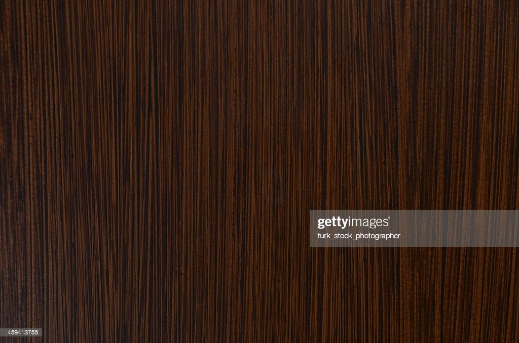 Close Up Of The Texture Of Dark Brown Wood : Stock Photo