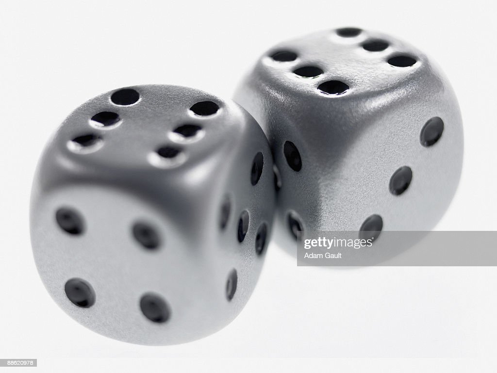Close up of two dice : Stock Photo