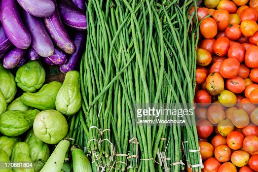 Close up of vegetables for sale