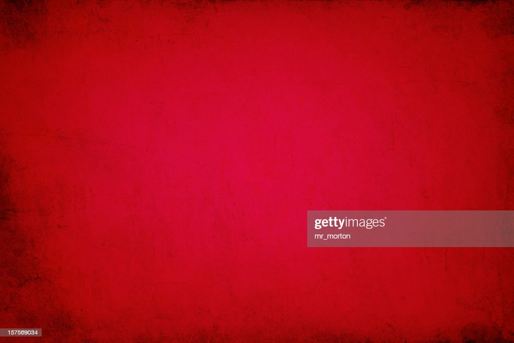 Close up of warm red wall