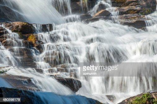 Close up of waterfall : Stock Photo