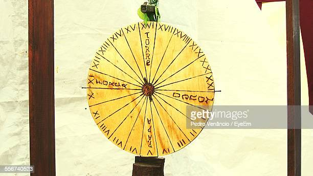 Close Up Of Wheel Of Fortune