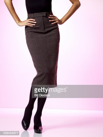 Close up of woman in business attire : Stock Photo