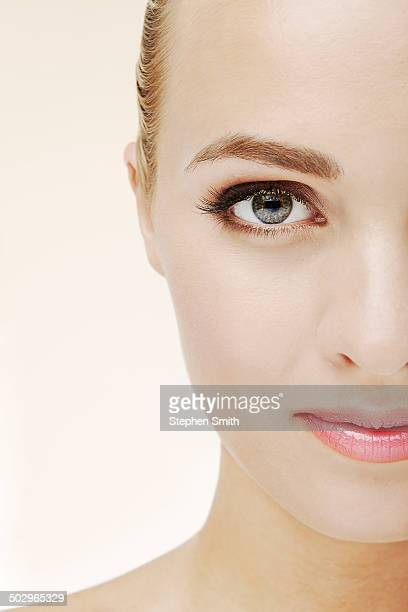 Close up of woman looking to camera