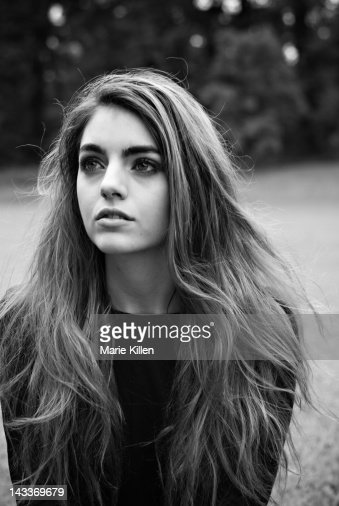 Close up of woman : Stock Photo