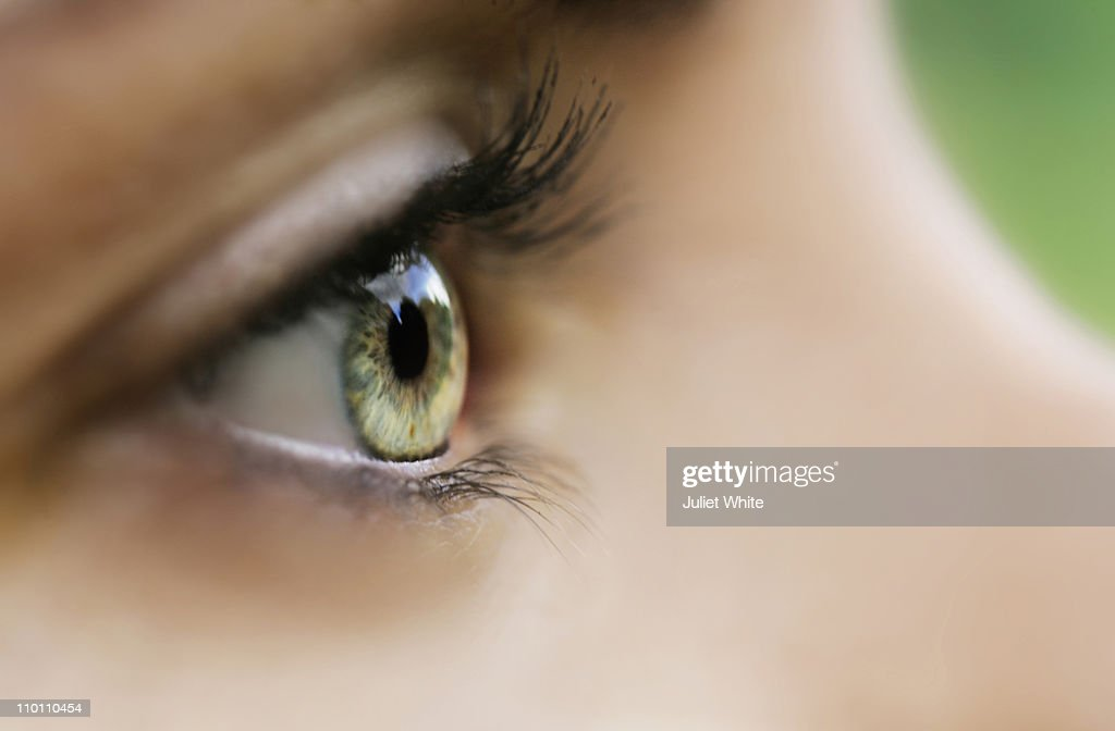 Close up of Woman's Eye : Stock Photo