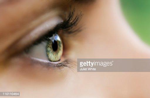Close up of Woman's Eye : Foto de stock