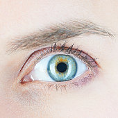 Close up of womans eye