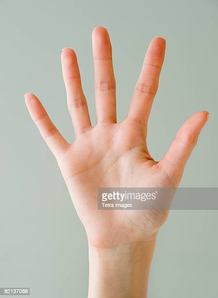 Close up of woman?s hand