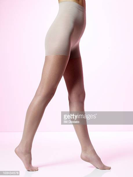 Close up of woman's legs and thighs