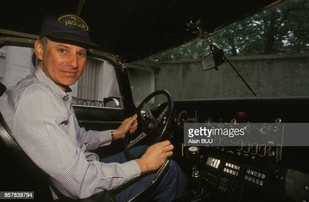 Close up Patrick Meney presentateur de l'emission de television 'Mea Culpa' sur TF1 le 11 ami 1992 en France