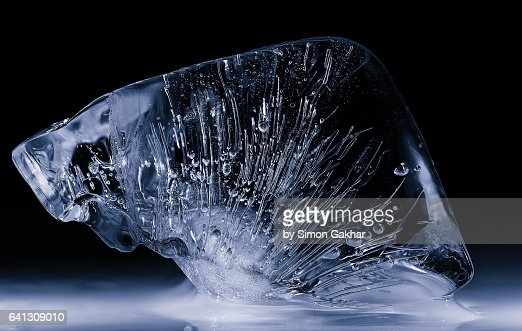 Close up Photograph of Ice Sculpture