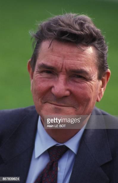 Close up Pierre Delaporte president de EDF en avril 1992 en France