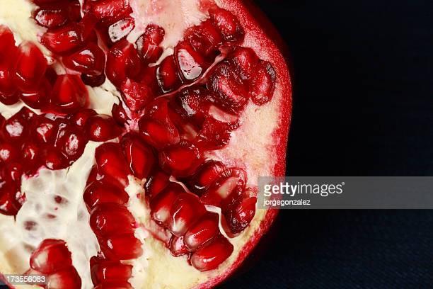Close up pomegranate