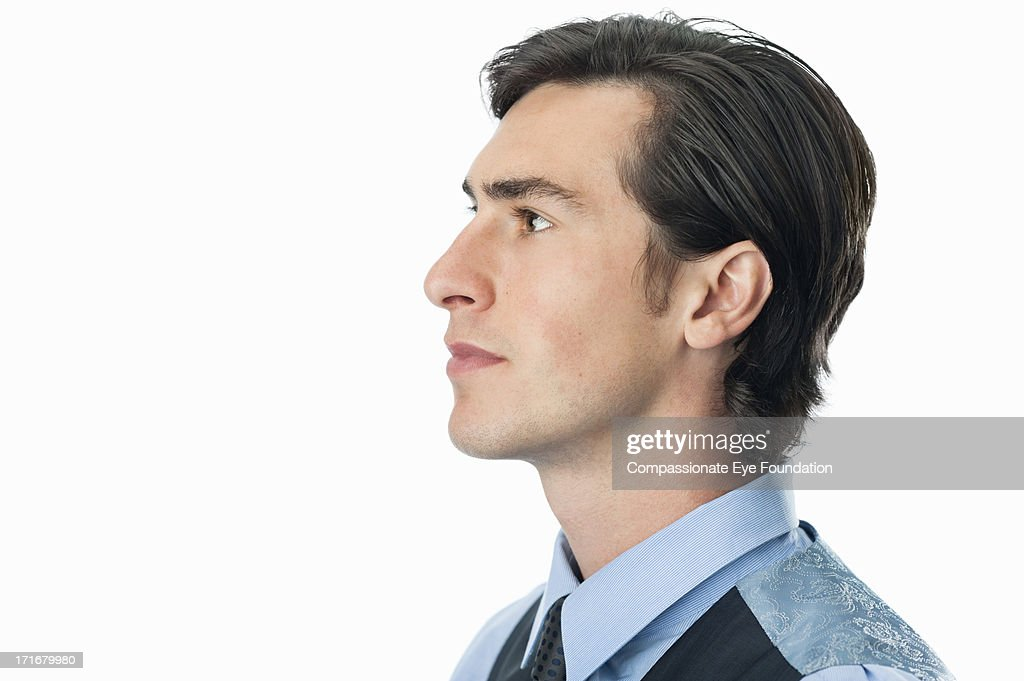 Close up portrait of businessman : Stock Photo