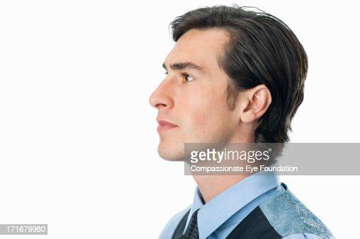 Close up portrait of businessman : Stock Photo