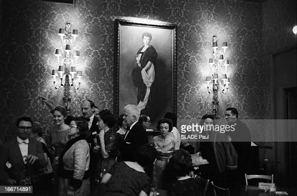 Close Up Renata Tebaldi EtatsUnis NewYork mars 1963 la soprano italienne Renata Tebaldi interprète l'opéra en 4 actes 'Adriana Lecouvreur' au...