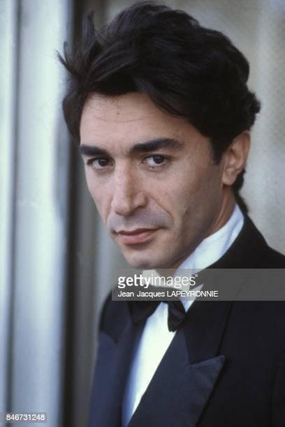 Close up Richard Berry le 27 juillet 1983 a Paris France