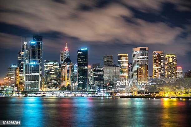 Close up to Sydney City