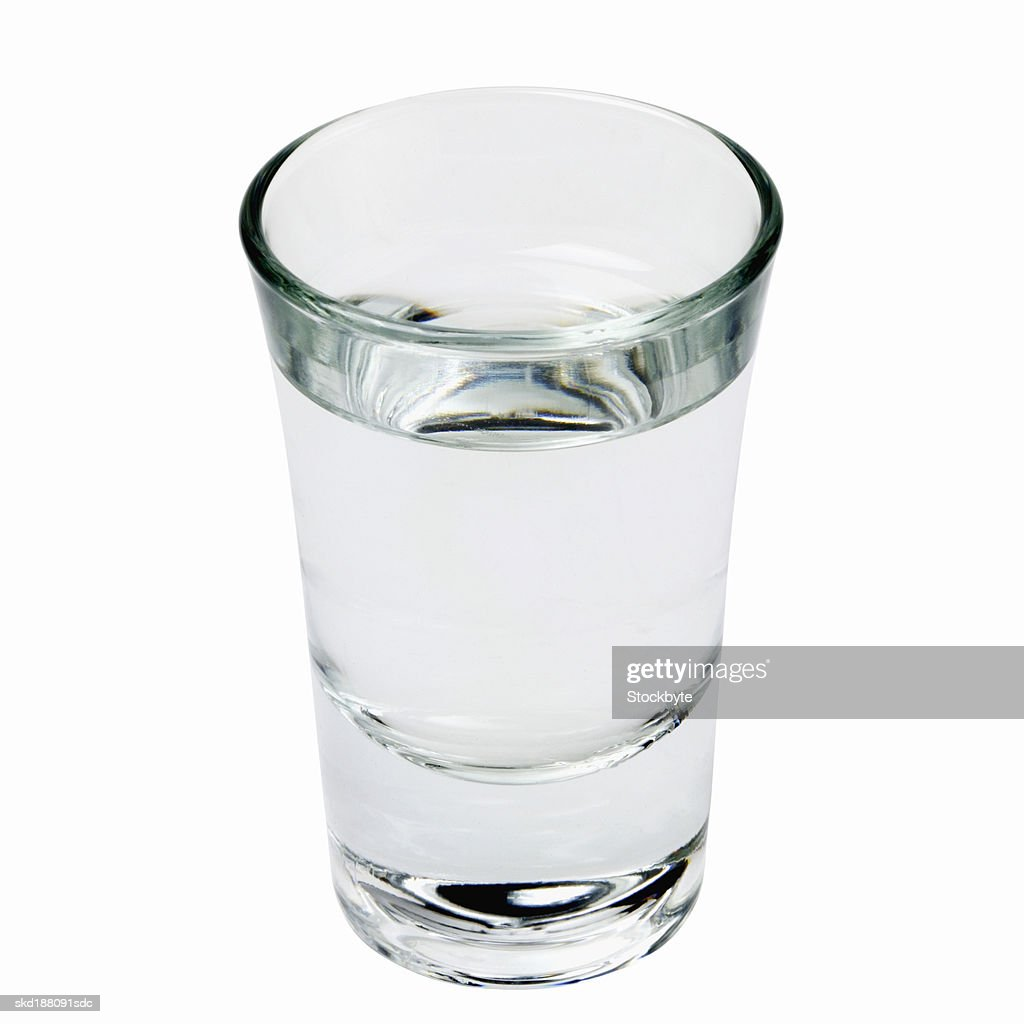 Close up view of a drink in glass