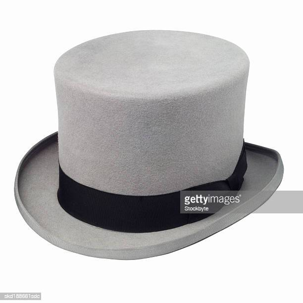 Close up view of a top hat