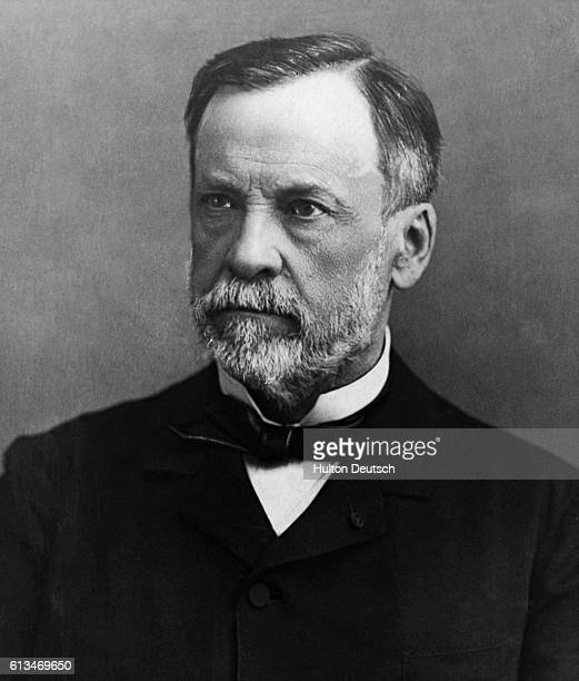 Close up view of scientist Louis Pasteur who founded microbiology