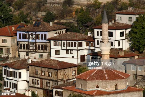 Close view of the old houses of Safranbolu, Karabuk Turkey