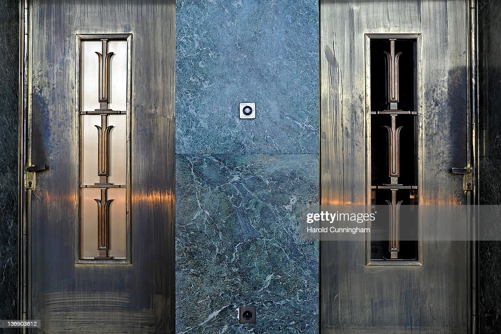 Closed doors are shown in Geneva's Palais des Nations on January 12, 2012 in Geneva, Switzerland. The European Headquarters of the United Nations, with its oldest sections built between 1929 and 1938 and originally known as the League of Nations, is studying the work requested for the complex restoration to upgrade its infrastructure and lower its carbon footprint while maintaining its historical and cultural value. The work, which would not begin for several years, could cost more than USD 1 billion.