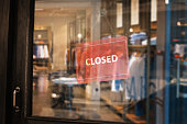 Closed, Suit Shop, Fashion Shop, Small Business, Closed Shop