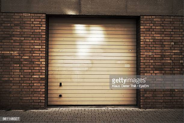 Closed Shutter Of Garage