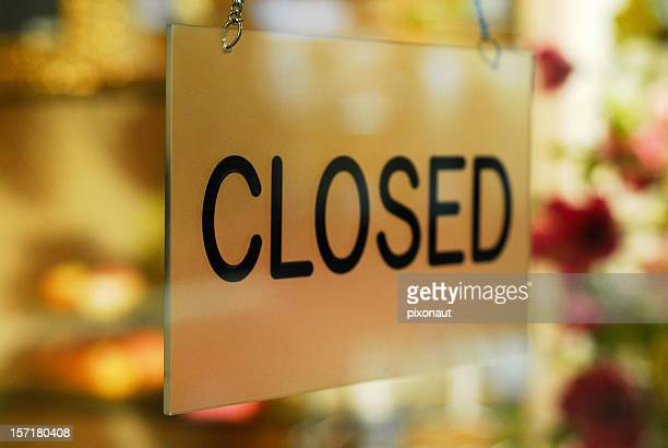 Closed Sign
