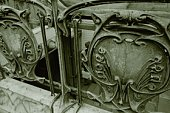 Closed Up Image of Several Decorative Parts in Paris, High Angle View, Paris, France