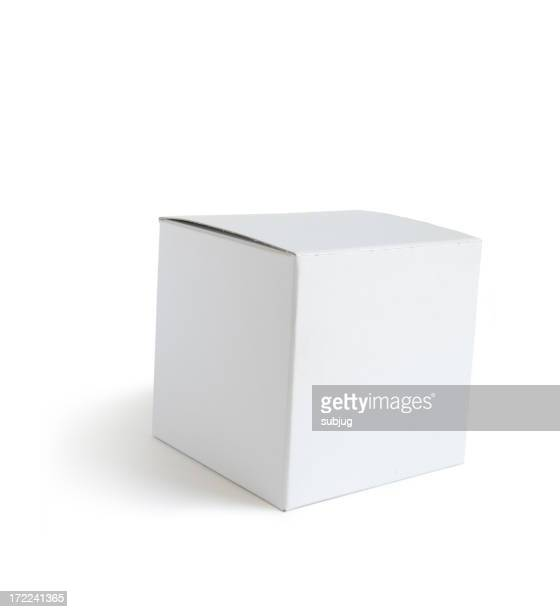 Closed white box