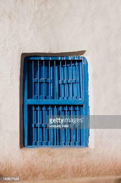 Closed window of a house, Vaishno Devi, Katra, Jammu And Kashmir, India