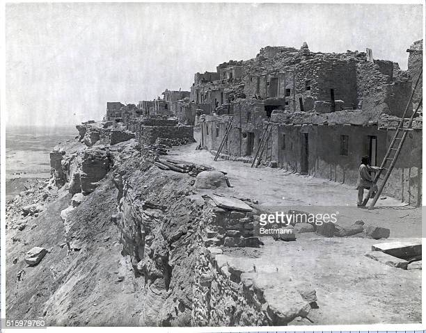 A closer view of the Waldi homes Some of the houses are built pn the very brink of the abyss The Indian rituals are still performed as in the days of...