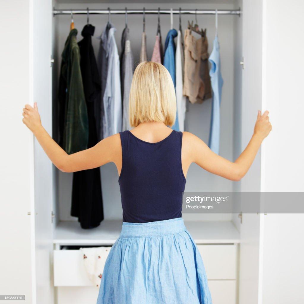 Closet full of choices
