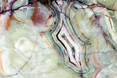 Closeup beautiful marble - onyx pattern with veins useful as background or texture, full frame