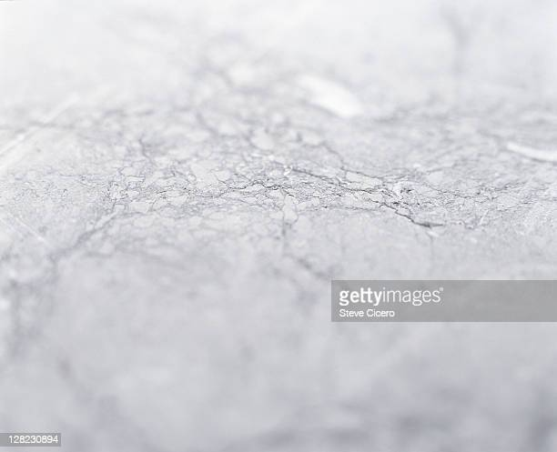 Close-up detail of marble stone graining