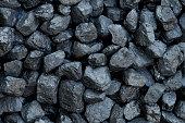 Close-up - heap of coal