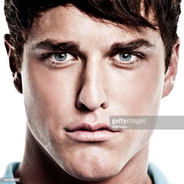 Close-up Portrait de mâle