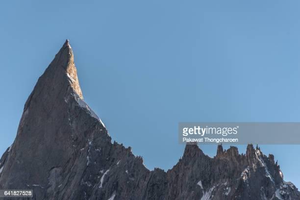 Close-up Mitre Peak from Concordia, K2 Trek, Karakoram Range, Pakistan