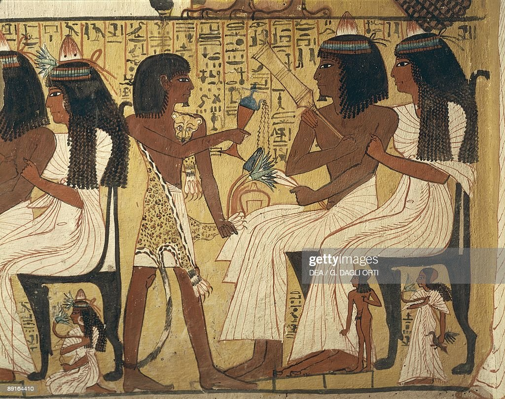 Tt1 sennedjem p gina 2 for Egyptian mural art