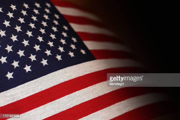 Abstrakte Amerikanische Flagge