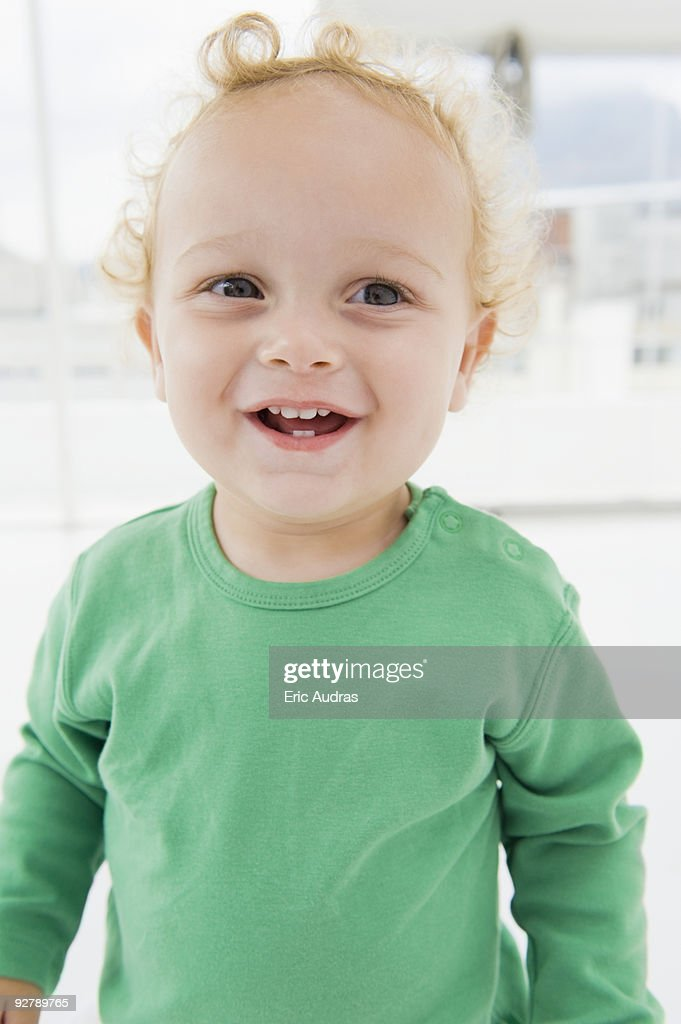 Close-up of a baby boy : Stock Photo
