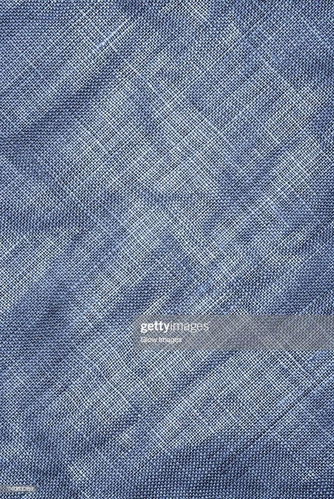 Close-up of a burlap fabric